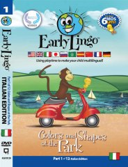 Early Lingo DVD Cover - Part 1 Italian
