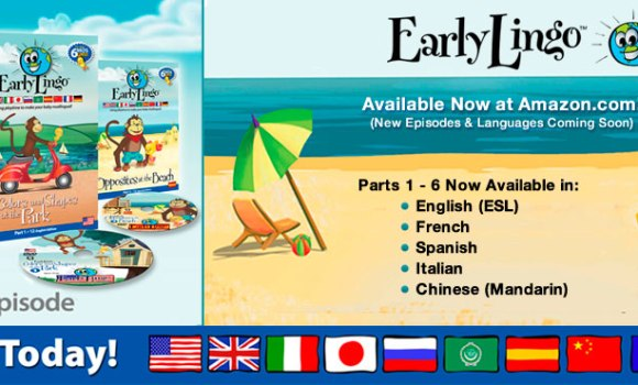 Buy Early Lingo DVD Series on Amazon!