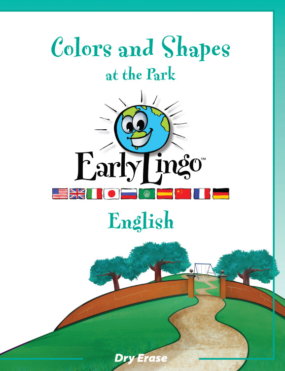 Early Lingo Workbook Colors and Shapes ENGLISH