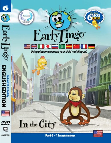 Early Lingo Teach Children English DVD 6