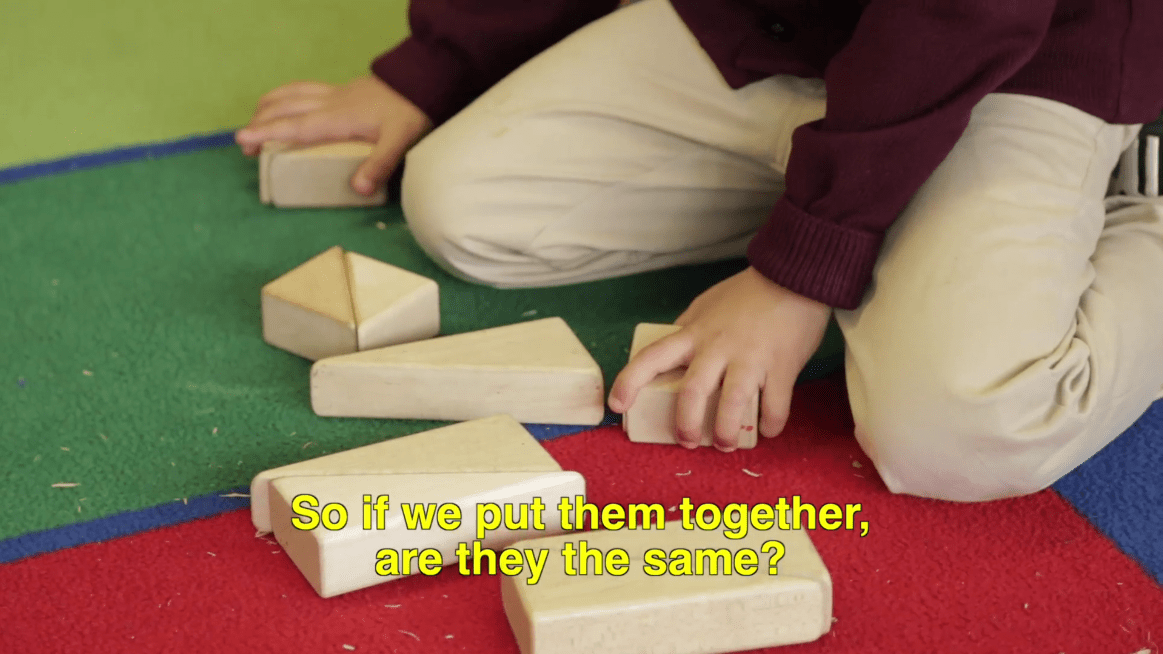 block play in kindergarten with math concepts