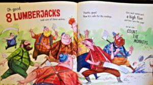 Count the Monkeys by Mac Barnett counting books for preschool