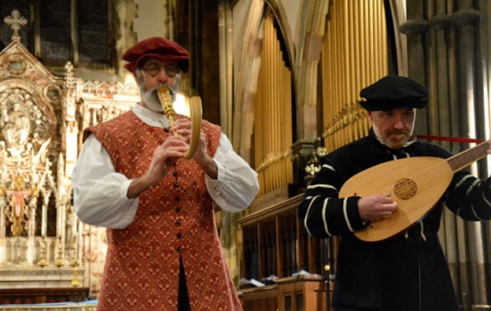 The Night Watch - medieval, renaissance and Tudor wedding music on plucked, blown and bowed period instruments