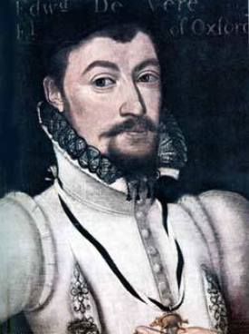 Edward de Vere, painted in 1590 by Marcus Gheeraedts.