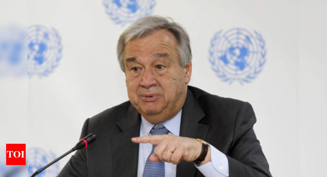Countries must declare 'climate emergency': UN chief