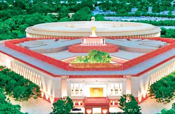 Construction work of new Parliament building begins- The New Indian Express