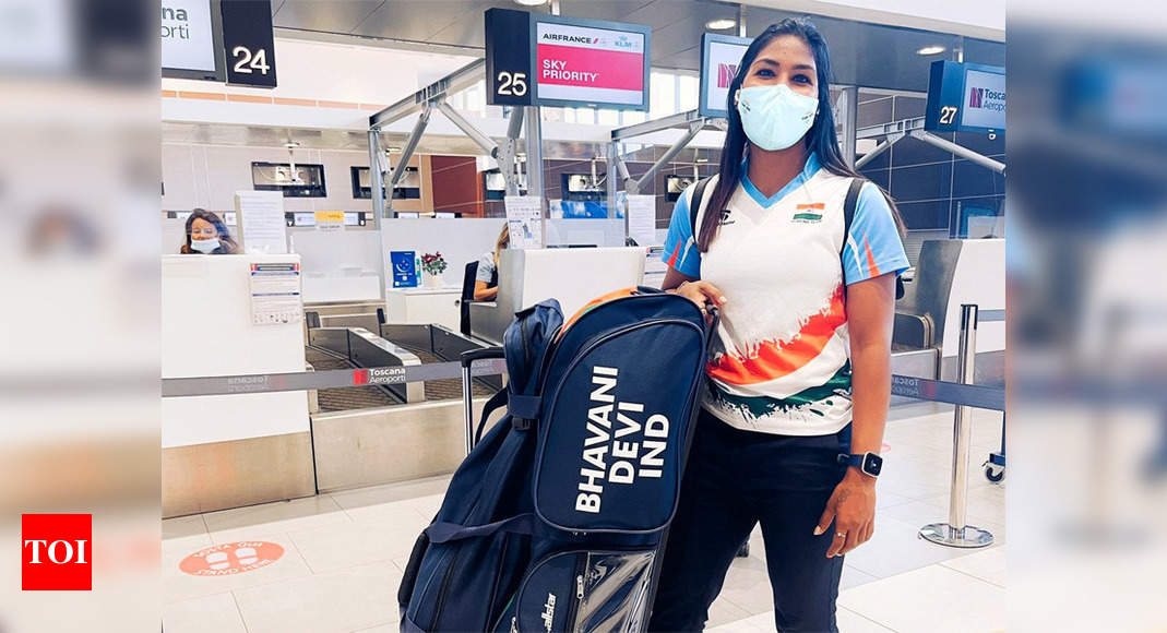 Forced to pick fencing in school, Olympic-bound Bhavani is now competition ready   Tokyo Olympics News