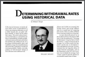 """""""The '4% rule' is actually the '4.5% rule.'""""--William Bengen, architect of the Safe Withdrawal Rate"""