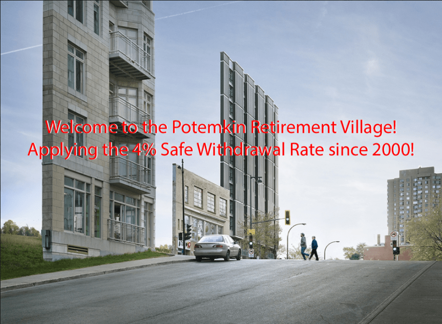 The Ultimate Guide to Safe Withdrawal Rates – Part 6: A 2000-2016 case study (or: Welcome to the Potemkin Retirement Village)