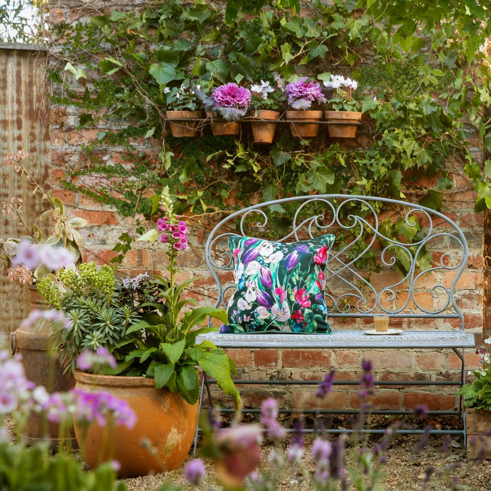 Dress up your deck with the Lucien Garden Bench