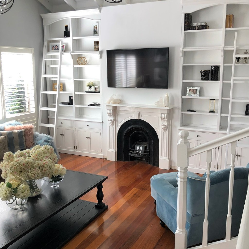 Before and after home renovation inspiration from a designer mum after lounge