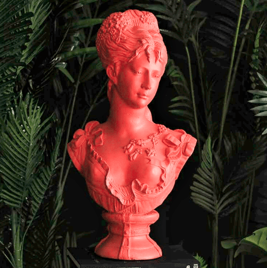 Interior design trends for 2019 with the Coral Bust
