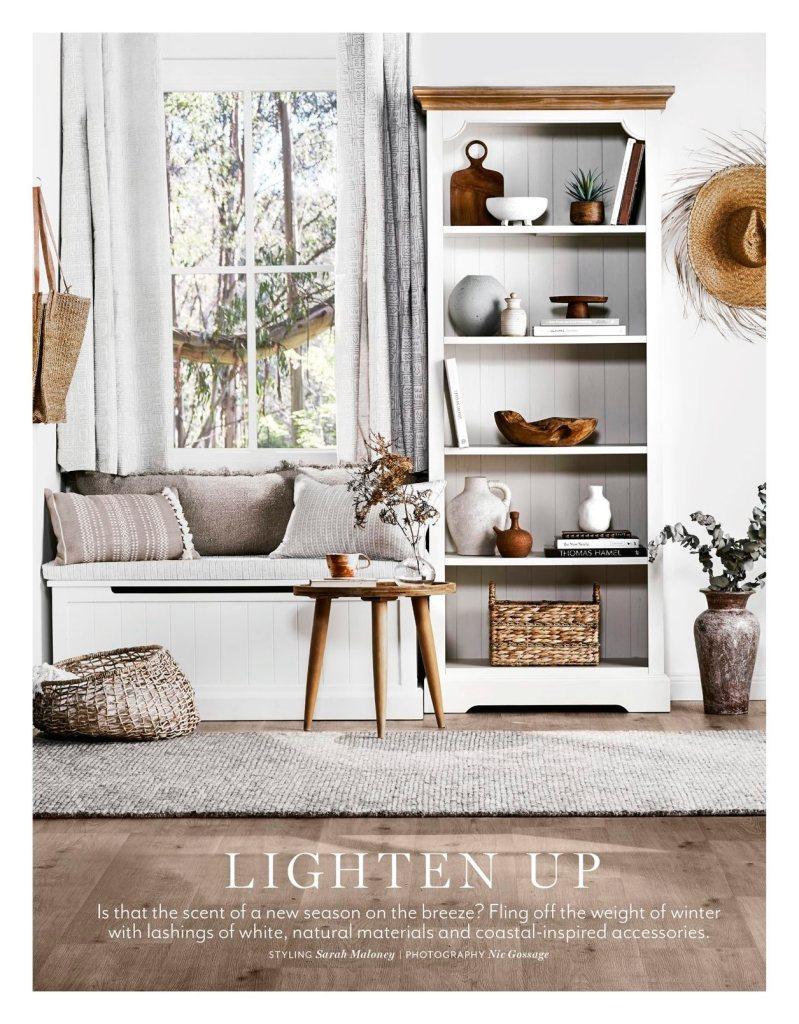 How to style your shelf like a stylist
