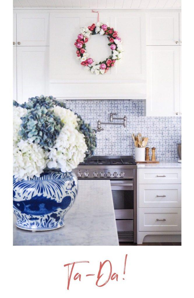 Create a Floral Christmas Wreath