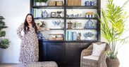 how to style the perfect shelf
