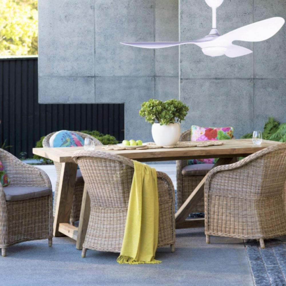 Outdoor Furniture Trends of 2021 with fan