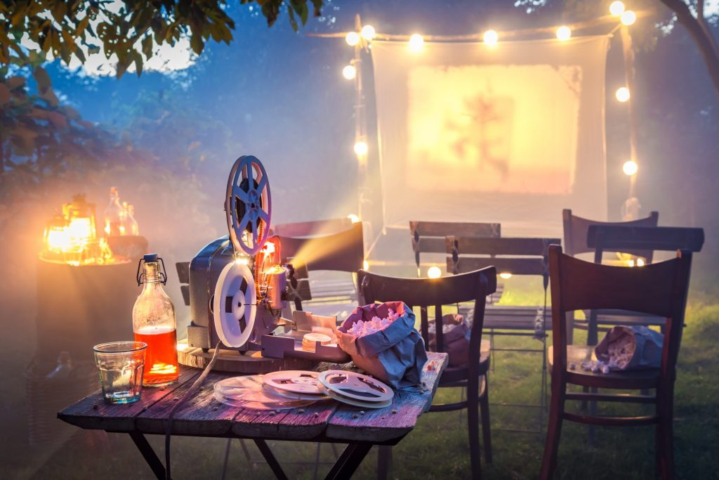 Make your own moonlight cinema —Halloween at home