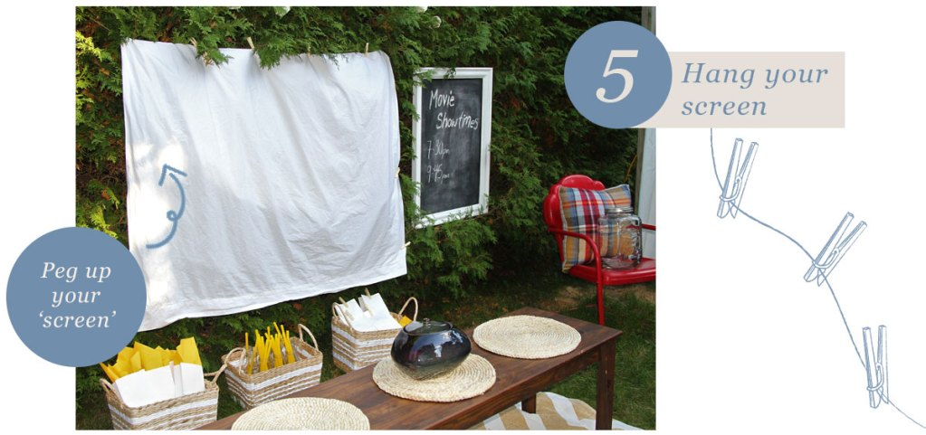 Make Your Own Moonlight Cinema — step 5 screen