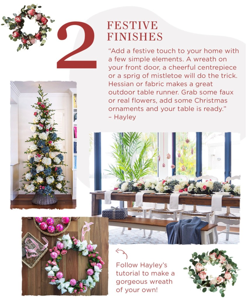Christmas Entertaining Made Easy tip 2