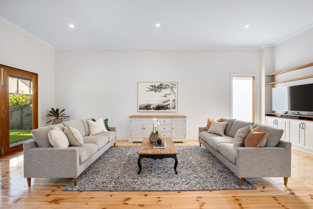 Update Your Period Home Without Losing its Charm large sofas in the lounge