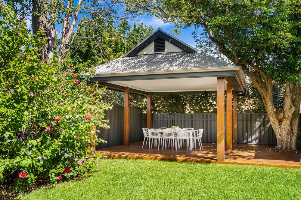 Update Your Period Home Without Losing its Charm pergola