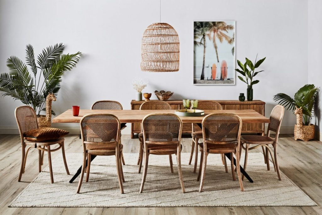 Surprising Style Trends for 2021 - rattan and natural