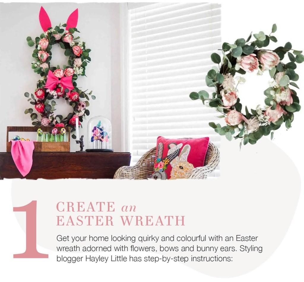 5 Ideas for Easter Fun create an easter wreath