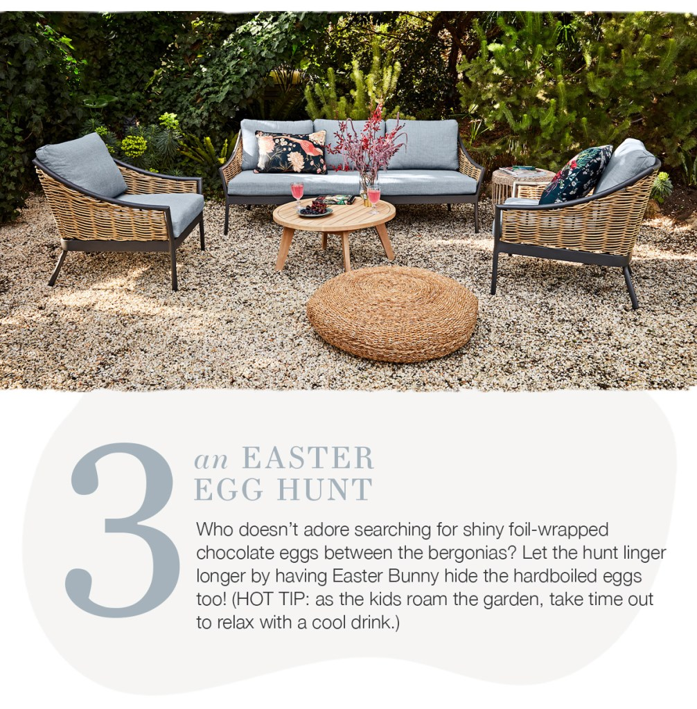 5 Ideas for Easter Fun hunt for easter eggs