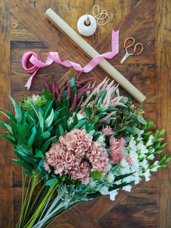 Make Your Own Mother's Day Bouquet - step 1