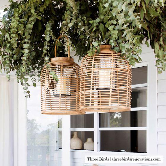 Benefits of Bamboo & Rattan - lanterns