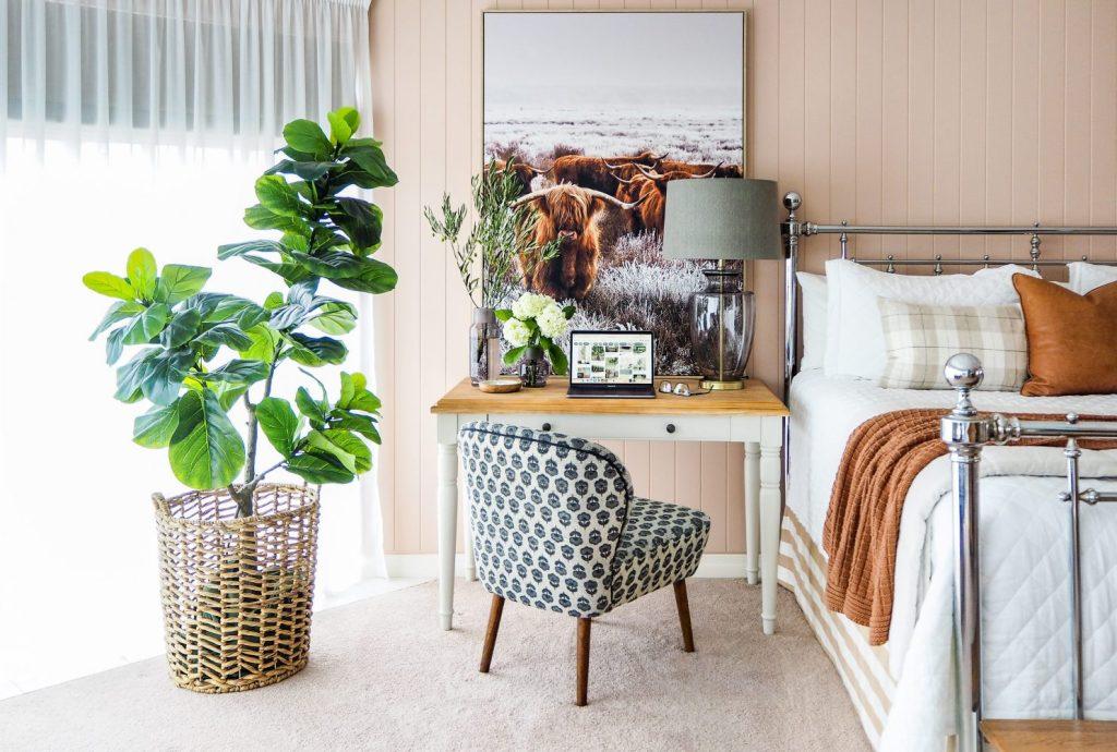 Bedroom Office Decorating Ideas - bedroom