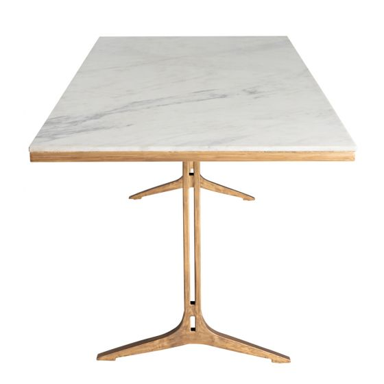 Buyer's Guide to Dining Tables: Timber or Marble? - marabella dinimarble dining table