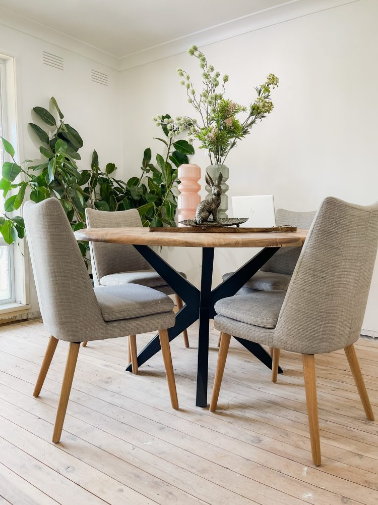 Style Challenge: Katrina Chambers with the Aura dining chairs