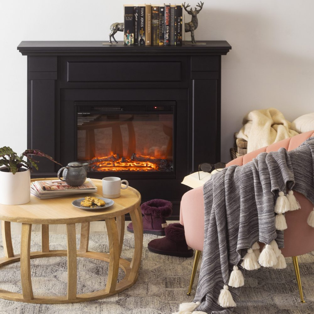 5 Ways to Warm Up Your Winter Style with a fireplace