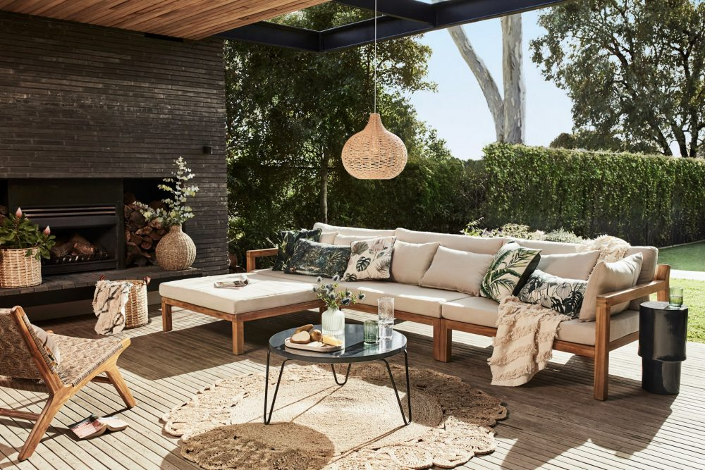 Favourite Outdoor Furniture by Heather Nette King with the sanctuary sofa