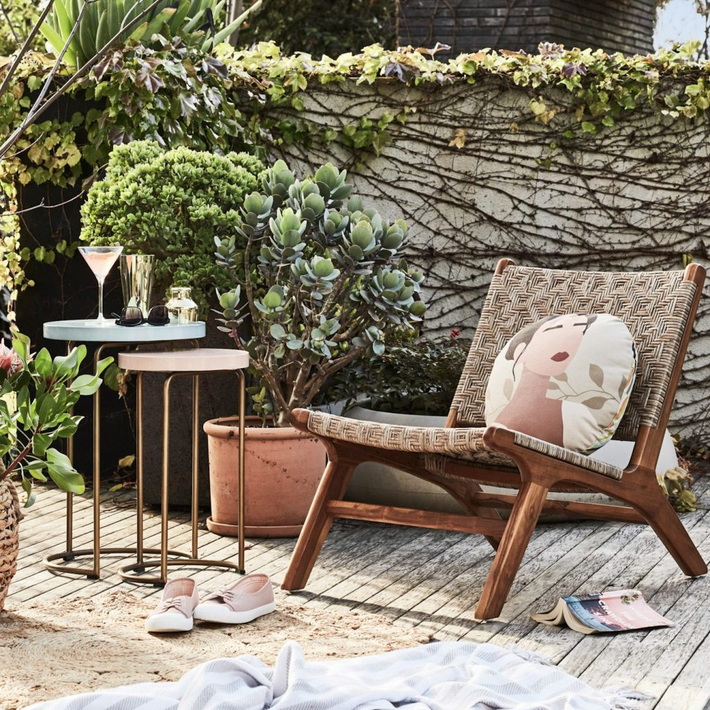 Turn Your Petite Patio into a Parisian Courtyard with seating