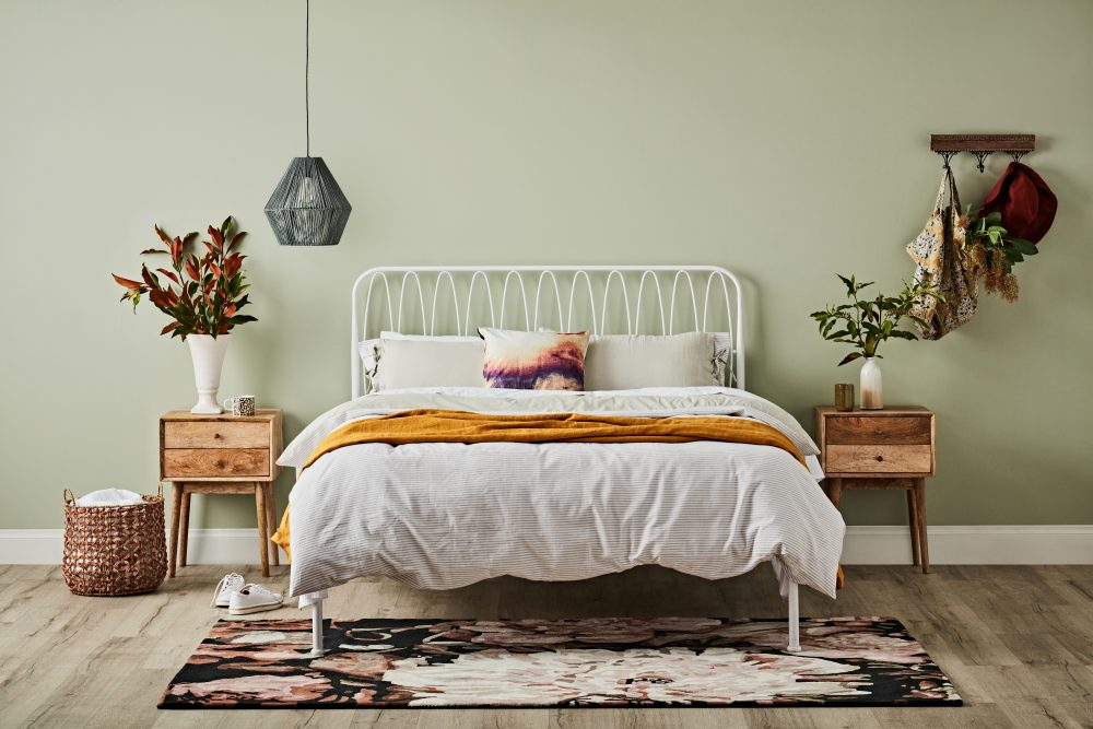 Eclectic Bedroom Decorating Ideas with the Maya bed