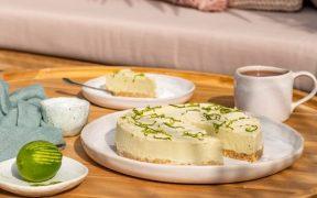 Lime & Avocado Pie by Chef Alison Lambert