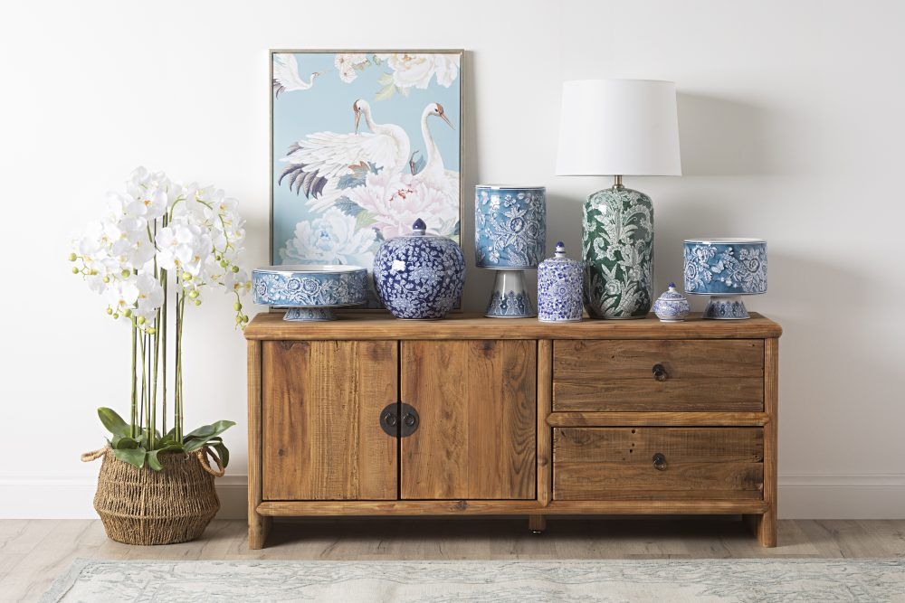 The Timeless Chic of Chinoiserie sideboard