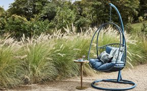 Swing into Summer in a Hanging Outdoor Chair