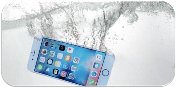八千代のiPhone修理水没修理