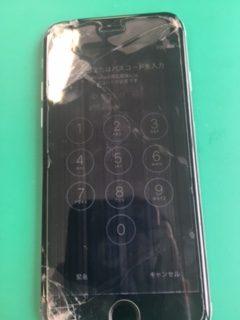 iPhone6,千葉,船橋,津田沼,画面割れ,線が入って,タッチが効かない,