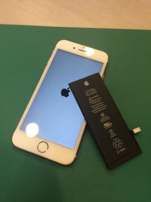 船橋,八千代,津田沼エリアで、iPhone6sのバッテリー交換!電池の寿命や劣化など!