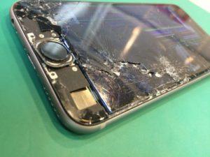 船橋市のiPhone修理ガラス割れ液晶修理2