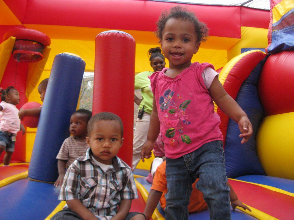 Bounce House Fun