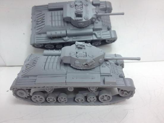 British Valentine markVIII tank