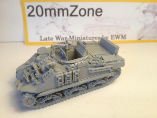Sherman M4A4 based ARV mark I loads of detail 10 min blitz build