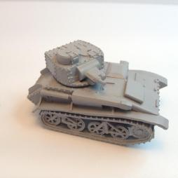 British Vickers Light tank mark VI b