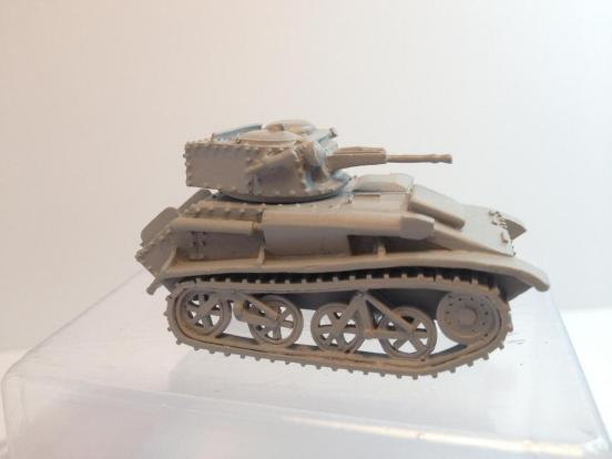 British Vickers mark VI C light tank 15mm anti-tank gun & .303