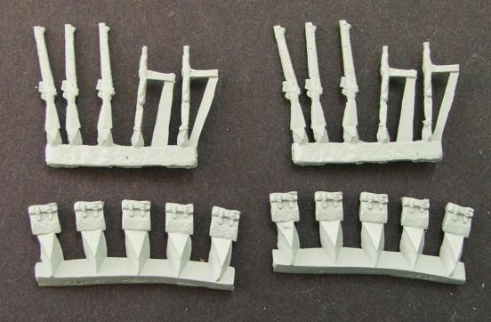 British small arms and packs (20 parts)
